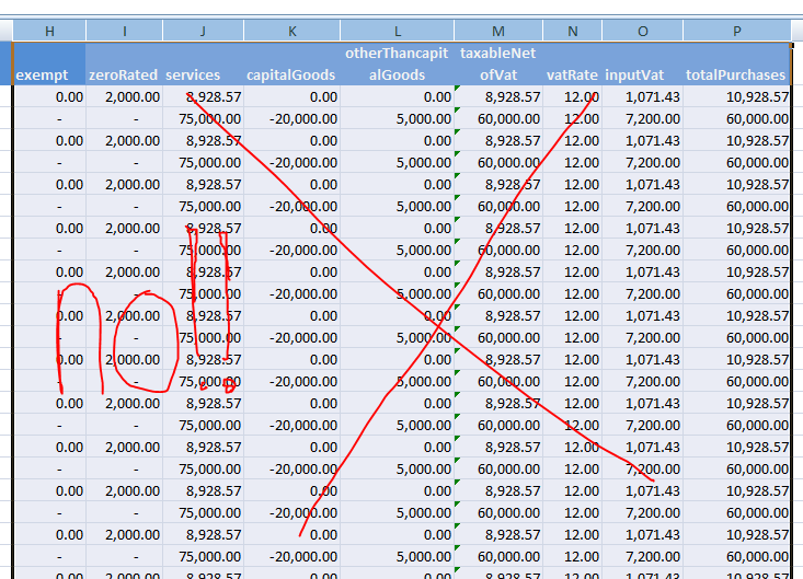 How to Convert Excel to Relief Purchases | bir-excel-uploader
